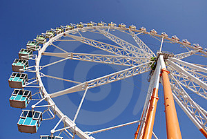 Big Wheel Attraction Stock Images - Image: 24183234