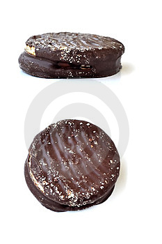 Chocolate Biscuit Stock Photos - Image: 24191583