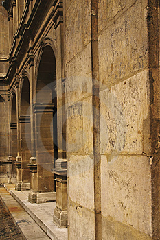 Columns Perspective Stock Photos - Image: 2420673