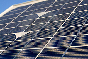 Detailed Solar Panel Royalty Free Stock Photo