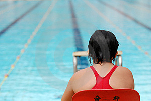 Pływacka Rywalizacja Fotografia Royalty Free - Obraz: 2421777