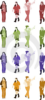 Woman Illustrations Royalty Free Stock Images - Image: 2422419