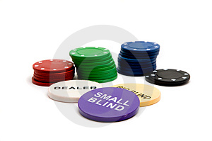 Poker Chips Stock Photos - Image: 2427273