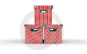 Três Caixas Imagem de Stock - Imagem: 24218281