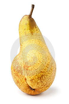 Single Pear Stock Photos - Image: 24221323