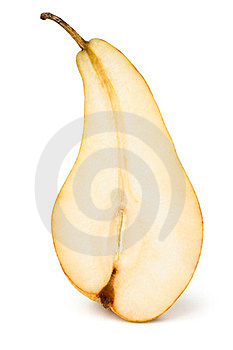 Cut Pear Royalty Free Stock Image - Image: 24221326