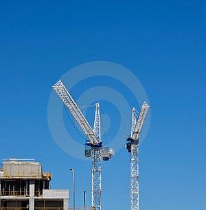 Two Cranes Stock Photos - Image: 24222853