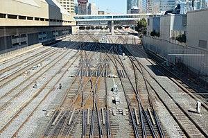 Railway Tracks Stock Images - Image: 24222874