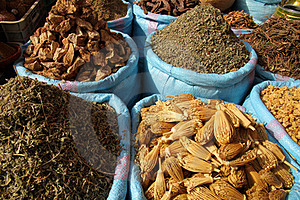Spices For Sale Royalty Free Stock Image - Image: 24225486
