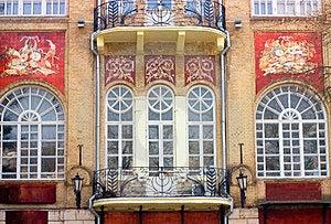 Balconies Stock Image - Image: 24228781