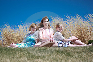 Mother & Daughters Royalty Free Stock Photos - Image: 24234968