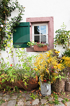 Facade Of A Farmers Cottage Stock Images - Image: 24246084