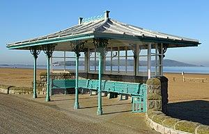 Seaside Ornate Shelter Royalty Free Stock Photography - Image: 24251087