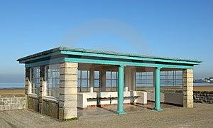 Seaside Shelter Stock Photo - Image: 24251200