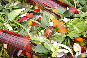 Salad In Abowl Stock Photography - Image: 24255472