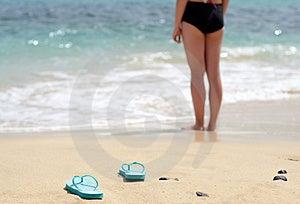 Girl Gone Swimming Royalty Free Stock Photo - Image: 24256185
