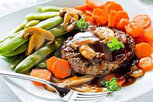 Burger Meal Stock Photos - Image: 24261553