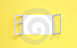 Open Window Stock Image - Image: 24263001