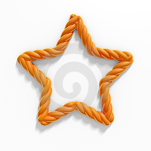 Golden Rope Stock Photos - Image: 24263123