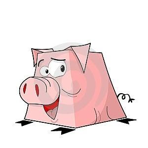 Piggy Box Royalty Free Stock Photography - Image: 24265247