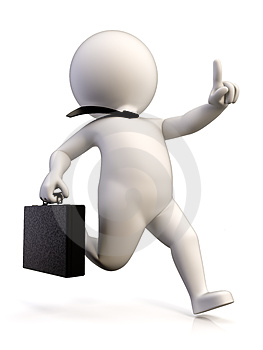 Business Runner Stock Images - Image: 24269044