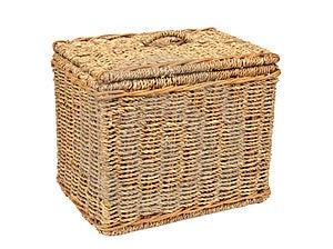Wicker Box Royalty Free Stock Photos - Image: 24269538