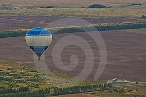 Flight On Baloon Royalty Free Stock Photography - Image: 24273707