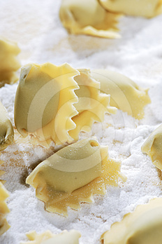 Pasta Ravioli Royalty Free Stock Photos - Image: 24289138