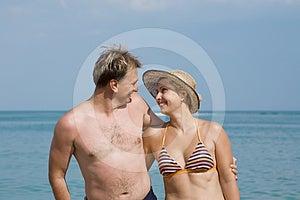 Merry Couple Stock Photo - Image: 24293290