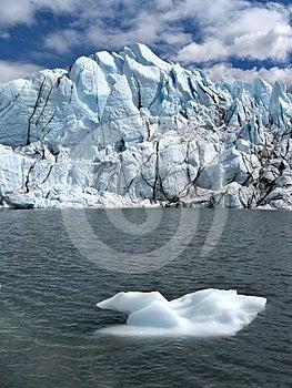 Melting Of Glacier Royalty Free Stock Image - Image: 24293996