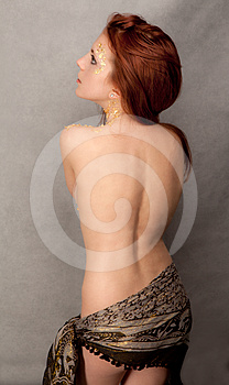 Pretty Redhead Teenager Stock Photography - Image: 24299972