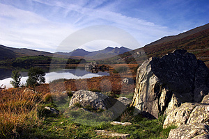 Snowdon In Autumn Royalty Free Stock Photography - Image: 2434317