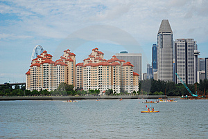 Modern Building And Water Stock Images - Image: 2437484
