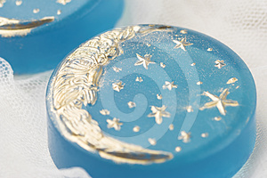 Handmade Moon Soap Stock Images - Image: 24300384
