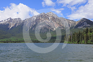 Pyramid Mountain. Royalty Free Stock Photography - Image: 24309037