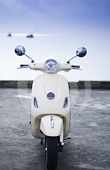 Old Style Motorcycle Royalty Free Stock Image - Image: 24309466