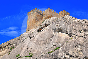 The Genoa Fortress In Crimea Stock Photos - Image: 24312233