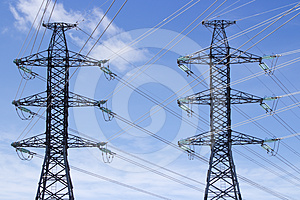 Transmission Power Lines Stock Images - Image: 24315534