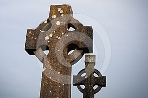Celtic Stone Cross Royalty Free Stock Photos - Image: 24315768
