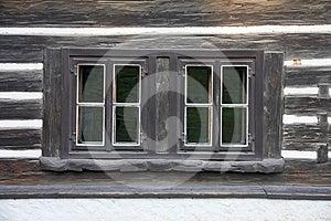 Cottage Windows Royalty Free Stock Image - Image: 24317246