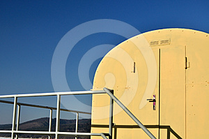 Yellow Blue Contrast Background Stock Images - Image: 24317274