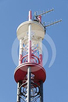 Telecommunications Pylon Royalty Free Stock Images - Image: 24317379