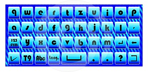 Touch Pad Keyboard Royalty Free Stock Photography - Image: 24317387