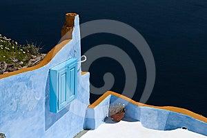 Architecture Style Of Santorini Island Stock Photo - Image: 24318260