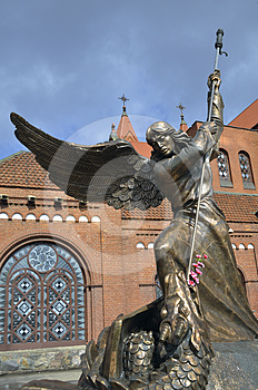 Minsk Red Church Royalty Free Stock Photography - Image: 24329307