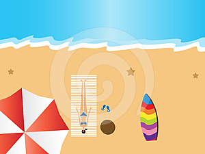 Summer Holiday Royalty Free Stock Images - Image: 24331999