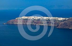 Oia Village At Santorini Island, Greece Royalty Free Stock Images - Image: 24335889