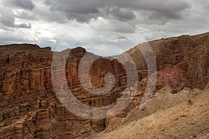 Mountainous Desert Of Arava Royalty Free Stock Photography - Image: 24351717