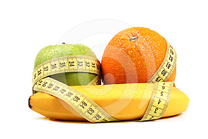 Fruit Diet Concept Royalty Free Stock Photography - Image: 24351727