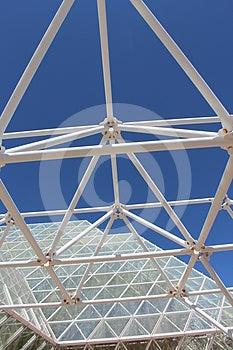 Large Greenhouse Architecture Royalty Free Stock Image - Image: 24356496